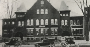History of SHS: 1896 - The First Building