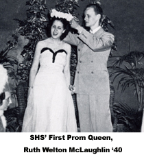 fbead4427cc The 1939 prom was the first SHS prom that did not involve a banquet. When  asked why this change in tradition